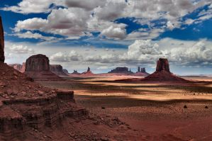 Monument Valley I by RoSaVision