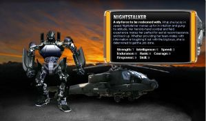 Transformers - Nightstalker by agra19