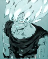 Super Saiyan Emergence by KovenantKonceptions