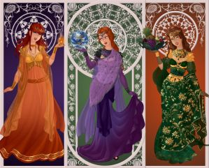 Goddesses of Olympus (Part 1)