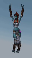 High Priestess Mar'li-Fk by forcisknight