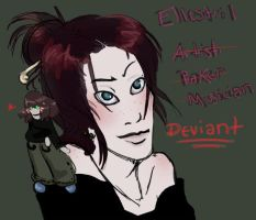 Deviant ID 09 by ellestril