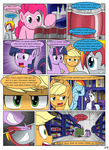 MLP FIM STARS Chapter-4 Stickers Page-53 by MultiTAZker