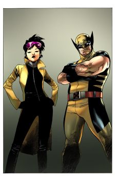 The Wolverine and the Jubilee by toonfed