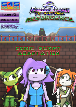 Freedom Planet Resurgence Issue 2 Comic Script PDF by CCI545