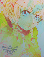 Loving Linkle by MzzAzn