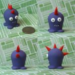 Bucket the Timid Monster by TimidMonsters