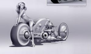 High Tech Motorcycles by Luismartins
