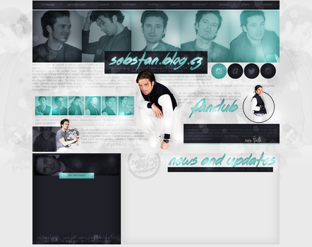Layout ft. Sebastian Stan by Andie-Mikaelson