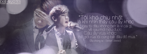 [ EXO Quotes | 1st project ] ChanBaek 2 by Emilybbz