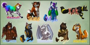 FC After-Con Badges 1 by Idess
