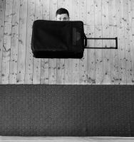 flying luggage by jfphotography