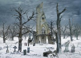 tribute to Caspar David Friedrich by lupographics