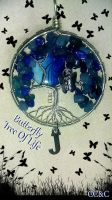 Butterfly Tree Of Life by LadyAriessTemptra