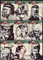 Marvel Masterpiece Cards set3b by BenHerrera