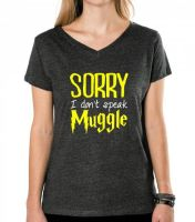 sorry i don't speak muggle. | graphic tee by cgainstudio