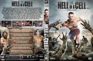 WWE Hell in a Cell 2013 DVD Cover V2 by Chirantha