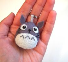 Totoro in my hand by yael360