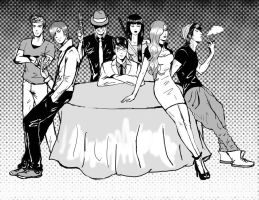 Gangsters by Roxellana