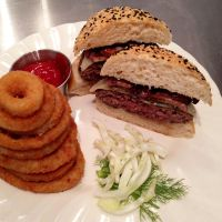 Dry Aged Sirloin Burgers by chef-chad