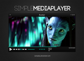 Simple Media Player by soneyboy