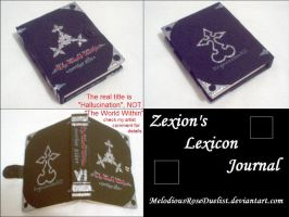 Zexion's Lexicon Journal+Note by MelodiousRoseDuelist