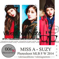 Miss A Suzy Photoshoot for MLB FW 2014 by valeriaaeditions