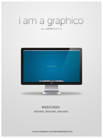 i am a graphico Wallpaper Mac by redsoul90
