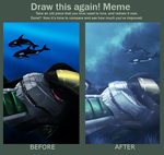 The Before and After meme by Ghostwalker2061