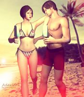 Ada x Leon: Summer Love by Yokoylebirisi