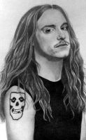 Cliff Burton-Metallica by PamelaKaye