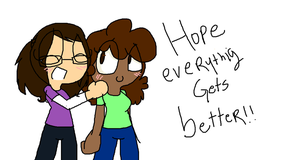 .:g:.Hope everything gets better for you!~ by xXrosethehedgehogXx