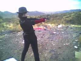Me Shooting Stock 1 by ChaosStock