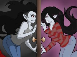 Alternate Marceline by Poefish