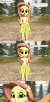Doing Lovely Things to your Waifu: Fluttershy by MeltingMan234