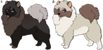 Pomeranian for adoption_CLOSED by Lew-LapinGris