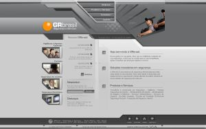 GRbrasil Website - 1 Home Page by Pedrolifero