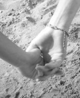 Holding hands by Karie-Pyre