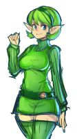 Saria by ManiacPaint