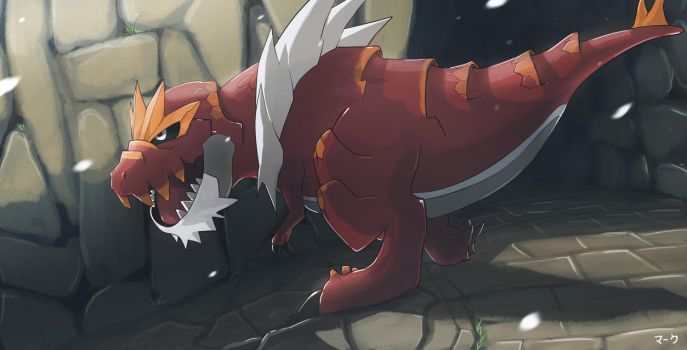 Pokemon: Tyrantrum by mark331