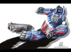 Optimus Prime by antonjorch