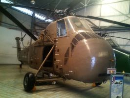 Sikorsky H-34 Choctaw by sudro