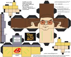 70s Show 2: Steven Hyde Cubee by TheFlyingDachshund