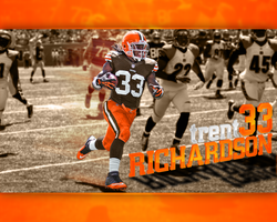 Trent Richardson by dmhtfld