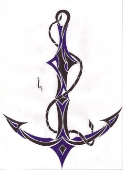Tribal Anchor by Thomas-Cale
