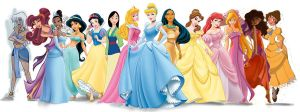 ULTIMATE DISNEY PRINCESSES 2.0 by burikatdollz
