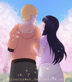 Naruto and Hinata [Fanart] by ShineCzanek