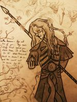 Torment of Nuada Silverlance by CelticMoonDust