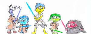 Mind Wars (The Emotions as the Jedi) by CraigTheCrocodile