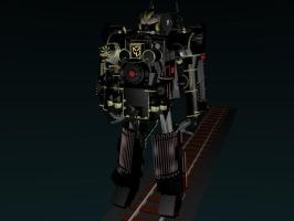 Bttf time train transformed 1 by g2mdluffy